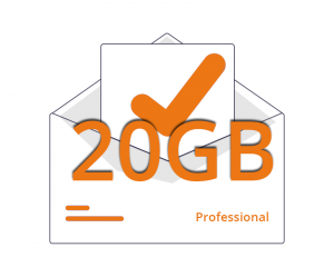 Casella Email Professional 20gb
