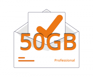 Casella Email Professional 50gb