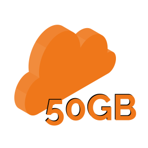 backup cloud 50gb
