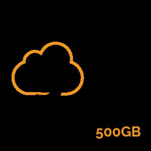 Gcloud 500GB